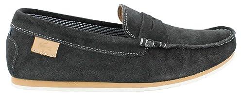 199e845fdd85c1 Image Unavailable. Image not available for. Colour  Lacoste Chanler 2 Suede  Men Shoes Dark Blue 7-27SRM1211-120
