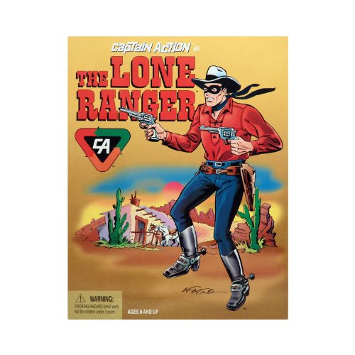 1/6 Scale Captain Action as THE LONE RANGER 12