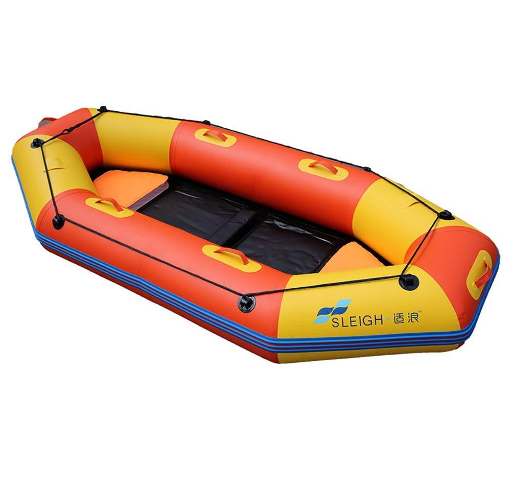 POTA 3-Person Inflatable Boat Kayak Fishing Boat Inflatable Raft by POTA