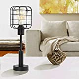 HAITRAL Modern Table Lamp - Edison Vintage