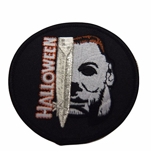 Halloween Michael Myers Face and Blade Patch -