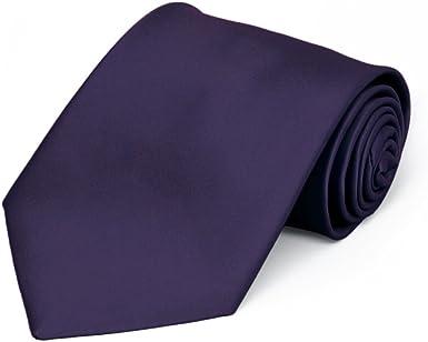 TieMart Lapis Purple Premium Pocket Square