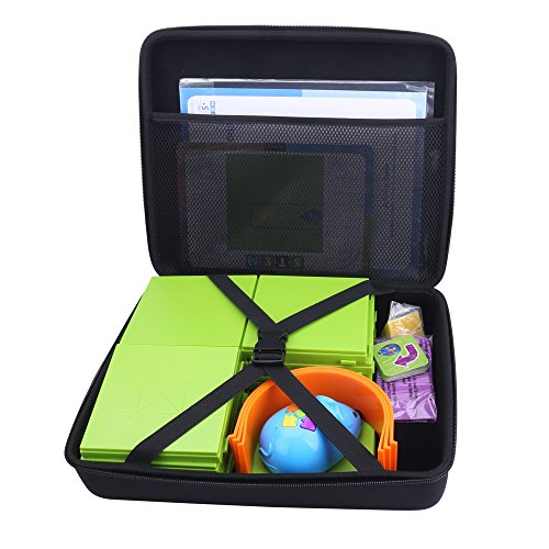 Storage Organizer Carrying Hard Case for Code and Go Robot Mouse Activity Set by Aenllosi (Black)