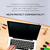 Celicious Privacy Plus 4-Way Anti-Spy Filter Screen Protector Film Compatible with MSI GT83 Titan 8RG