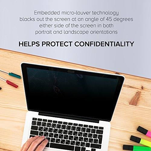 Celicious Privacy Plus 4-Way Anti-Spy Filter Screen Protector Film Compatible with Dell Inspiron 13 7373 by Celicious (Image #2)