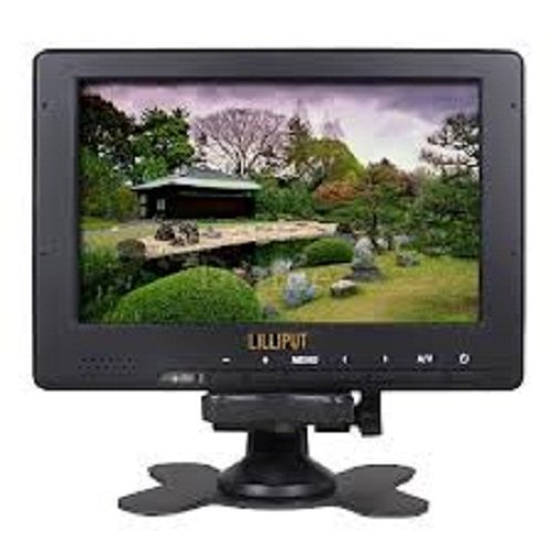 Brightness LILLIPUT 7'' 667GL-70NP/H/Y-HB LCD Monitor HDMI & YPbpr for HD Camera by Liliput