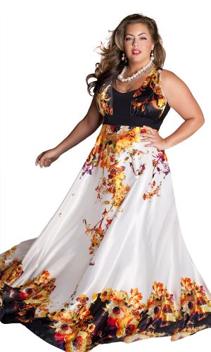 IGIGI Women's Plus Size Stella Gown