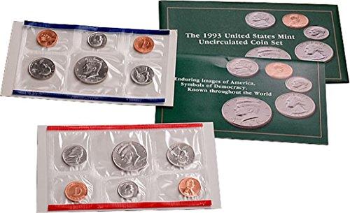 1993 U.S. Mint Set – 10 coin set