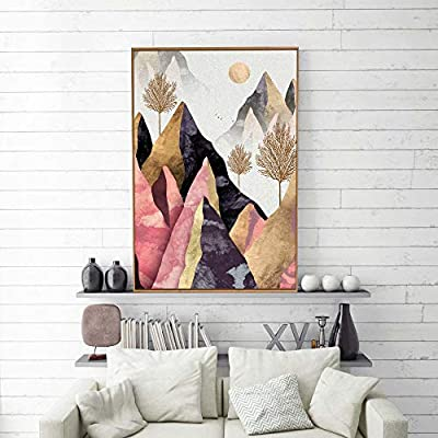 Home work Decoration Nordic Style Abstract - Thirty Six Option - Frame