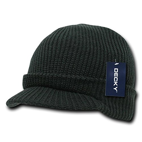 DECKY GI Jeep Cap, Black