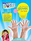 gLovies Multipurpose Disposable Gloves for Kids (100 Pack)- Durable & Latex Free Hand Protection for Any Skin Type Children Activities