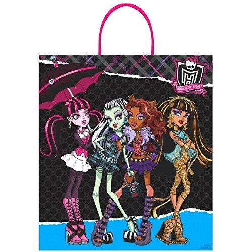 [Amscan Monster High Birthday Ghoulfriends Loot Bag, 16