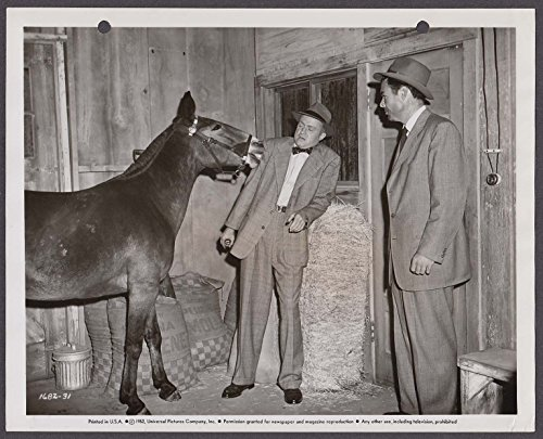 Larry Gates Francis Covers the Big Town 8x10 photo 1952 #31 - 8 Town Gate