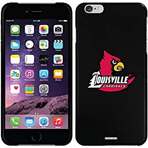 University of Louisville - Cardinal design on a Black iPhone 6 Plus Thinshield Snap-On Case