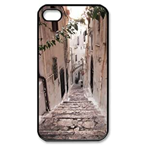 ALICASE Diy Customized hard Case Road For Iphone 4/4s [Pattern-1]