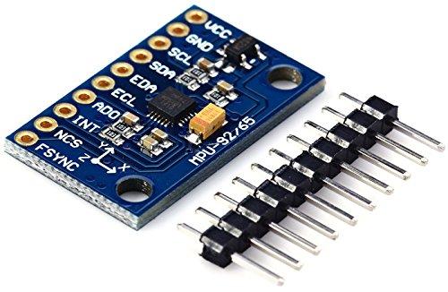 WINGONEER MPU-9255 GY-9255 Attitude Sensor Compass Accelerator Gyro Module 3-5V I2C 9DO