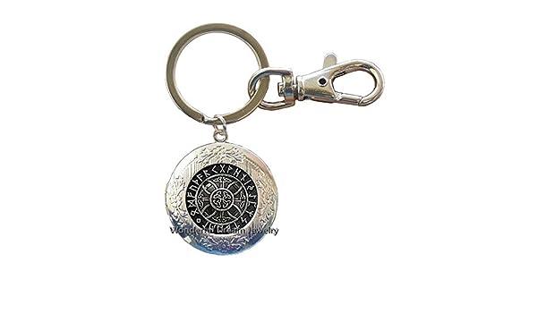 Viking Rune Locket Llavero, Viking Jewelry, Rune Locket, Viking ...