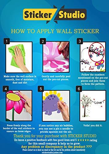 Sticker Studio Minions Wall Stickers for Living Room, Bedroom, Kids Room (Vinyl, Standard, Multicolour) 51zR%2Bnbu8wL India 2021