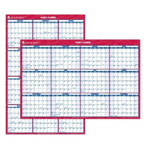AT-A-GLANCE Recycled Vertical/Horizontal Wall Planner, 24 x 36 Inches, White and Cream, 2011 (PM26-28) supplier