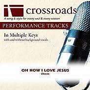 Oh How I Love Jesus [Performance Track]