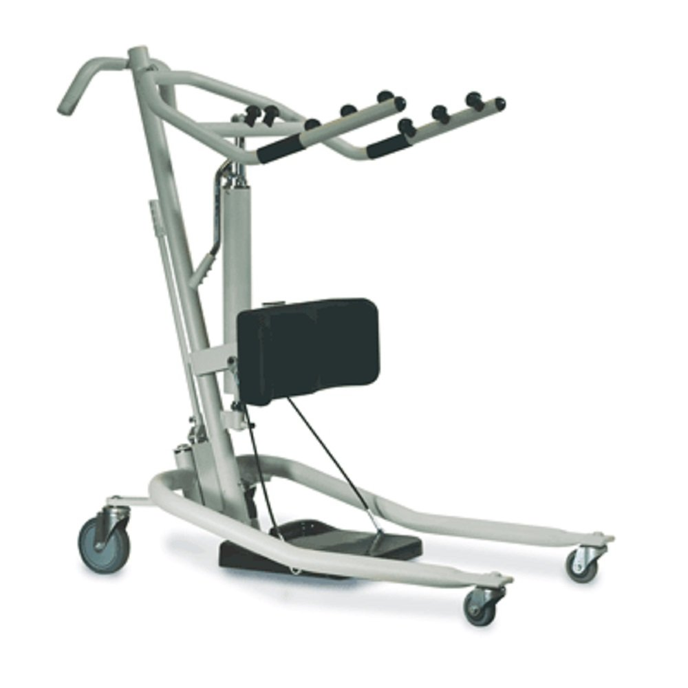 Stand Up Patient lift - Get-U-Up Hydraulic Stand Up Lift - Invacare GHS350 with Invacare Reliant Standing Sling - Extra Large R131