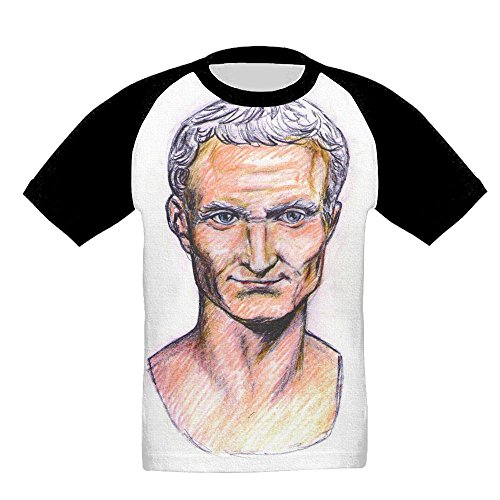 Quzim Strong archon Gaius Julius Caesar Jersey Baseball Tee T Shirts For Kids Toddler Baby Boys Girls - Julius Baseball