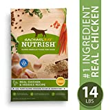Rachael Ray Nutrish Premium Natural Dry Dog Food, Real Chicken & Veggies Recipe, 14 Lbs