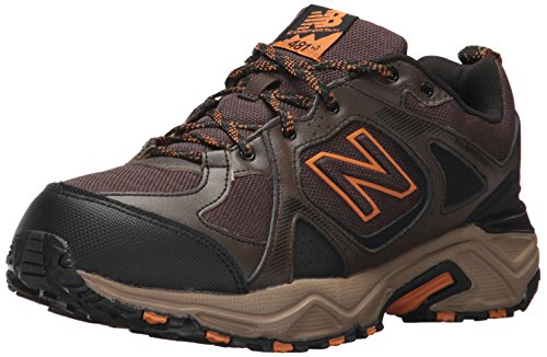 New Balance Men's 481V3 Water Resistant Cushioning Trail Running Shoe, Brown, 10 4E US
