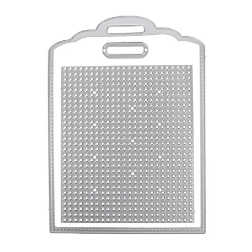 Itlovely Tag Cross Stitch Cutting Dies Stencil DIY Scrapbooking Album Card Embossing ()