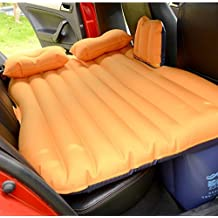 HOMEE@ Car Inflatable Bed Car Adult Mattress Rear Travel Bed Car in the Back Seat Suv Sleep Pad Car Shock Bed Air Cushion