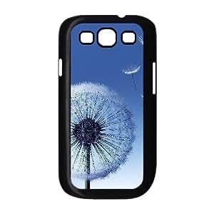 Naza Dandelion & Flower Samsung Galaxy S3 Cases Dandelion Seeds for Men, Samsung Galaxy S3 Case I9500, [Black]