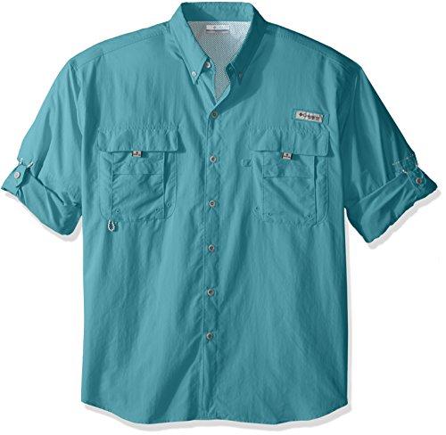 Columbia Men's Big Bahama Ii Long Sleeve Shirt, Moxie, - Moxie Long Sleeve