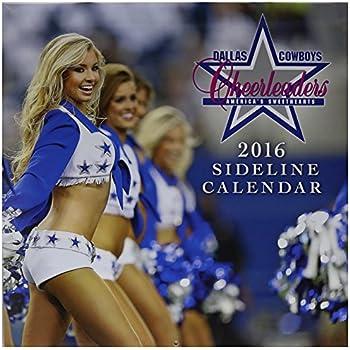 Amazon Com Turner Dallas Cowboy Cheerleaders 2016 Wall