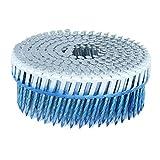 FASCO 1.875 in. x 0.092 in. 15-Degree Screw Aluminum Plastic Sheet Coil Siding Nail 3,200 per Box