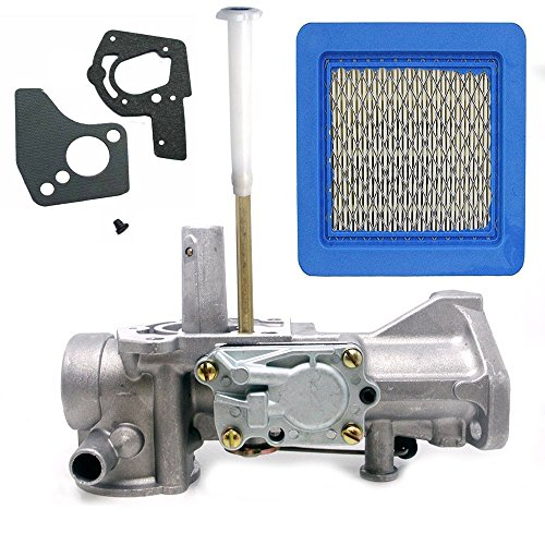 FanzKo 498298 5HP Carburetor for Briggs and Stratton Carburetor-498298 Briggs Carb Gasket Air Flter Set Kit Craftsman Lawn Mower Parts