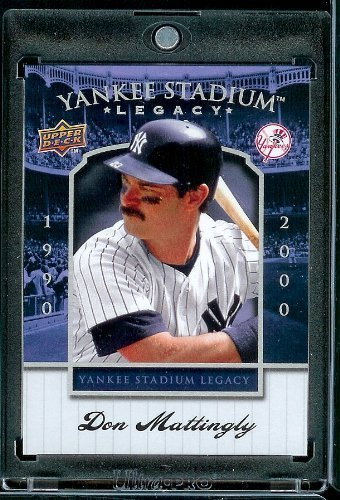 2008 Upper Deck Yankee Stadium Legacy Collection # 70 Don Mattingly - New York Yankees - Limited Edition MLB Baseball Trading Card