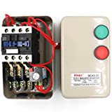 Baomain Three Phase Motor Magnetic Starter QCX5-5.5KW AC Contactor 36V Coil 13A 3Poles 7.5 HP