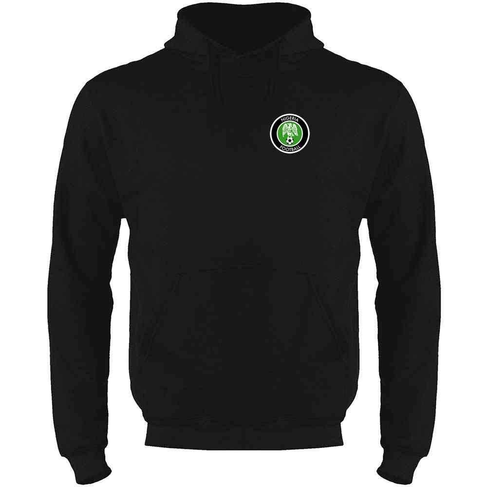 Nigeria Soccer Retro National Team Mens Fleece Hoodie Sweatshirt