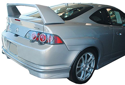 Style Frp Hood (JSP 27405 Acura RSX Type R Rear Spoiler Painted 2002-2006 Factory Style (Milano Red Tricoat))