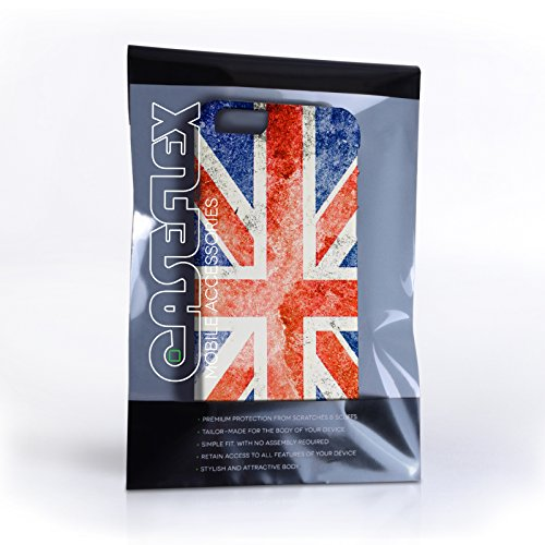 Caseflex iPhone 6 / 6S Hülle Retro Union Jack Flagge Hart Schutzhülle