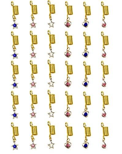 dread coil beads - 9