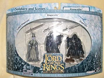 Lord of the Rings Armies of Middle-earth Battle Scale Figures Ringwraith 3- pack by Lord of the rings Armies of the middle earth: Amazon.es: Juguetes y juegos