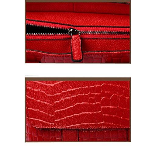 Peau En Sac Fashion Tout Fourre LS2 Vache Sac De Diagonal Crocodile Temperament Trends FtxxaqzIw4