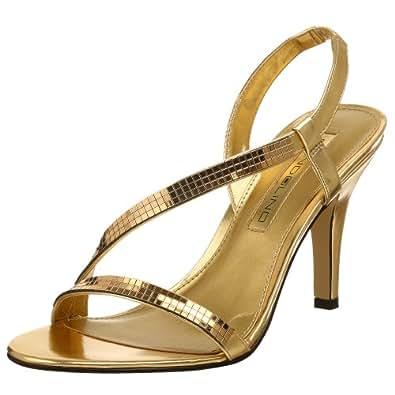 Bandolino Women's Rayonna Dress Sandal,Gold,11 M