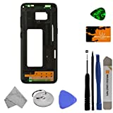Housing (Mid Frame) for Samsung Galaxy S8 (Black) with Tool Kit