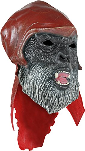 [Planet Of The Apes Gorilla Costume Latex Mask Adult] (Planet Of The Apes Costumes)