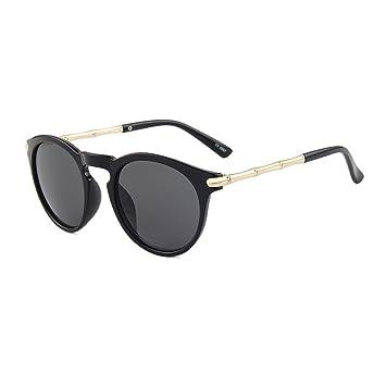 TININNA Mode Lunettes de Soleil Polarisées UV400 en Plastique Cadre AC Verre Sunglasses pour Femmes Bleu GaLTs3qV