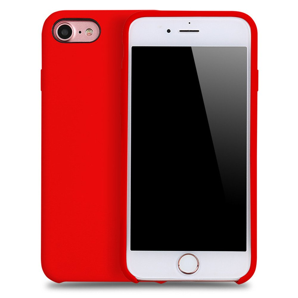 MultiBey Shatterproof Break Resistant Soft Silicone Rubber Case for iPhone 8 iPhone8 Plus DUOBEY