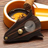 GALINER Cigar Cutter Lock System Wood Stainless