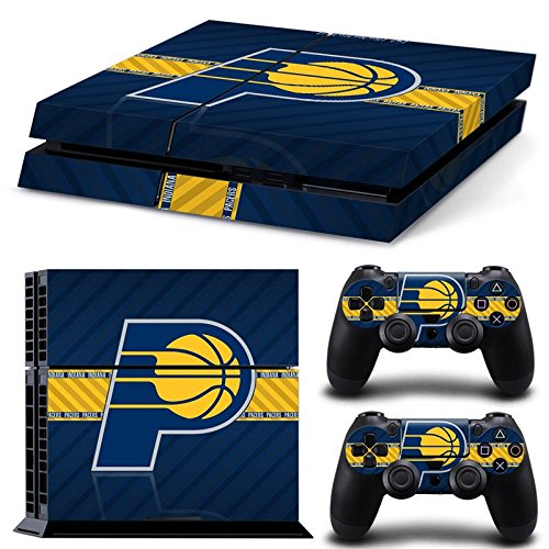 FriendlyTomato PS4 Console and DualShock 4 Controller Skin Set - Basketball NBA - PlayStation 4 -